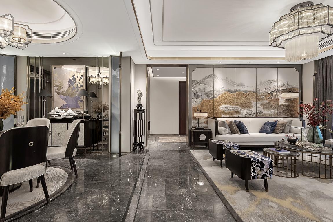 新湖明珠城—中式风格