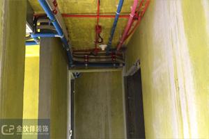 中海珑湾锦园89平 简欧—木工阶段