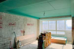 富强新苑 复式 现代——木工阶段