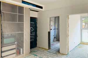 南山维拉32幢 95平 现代——油漆阶段